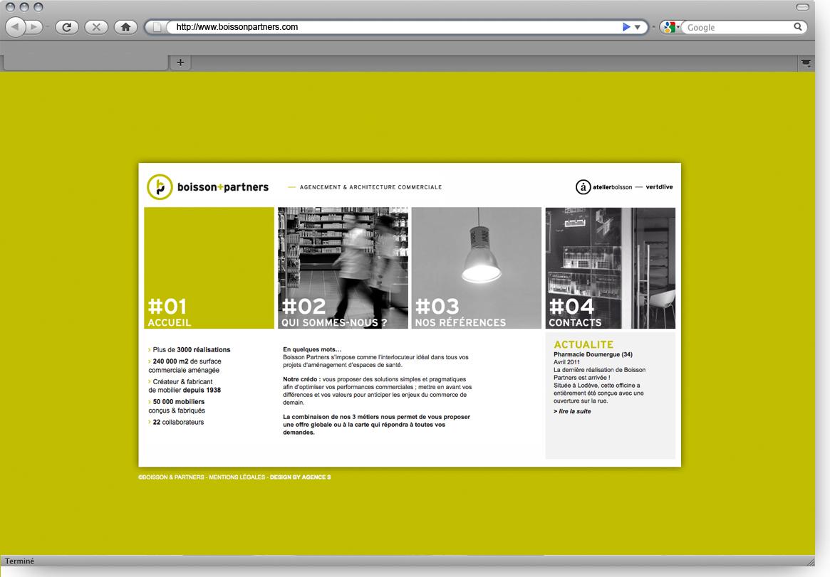 Boisson + Partners - Agencement et architecture commerciale