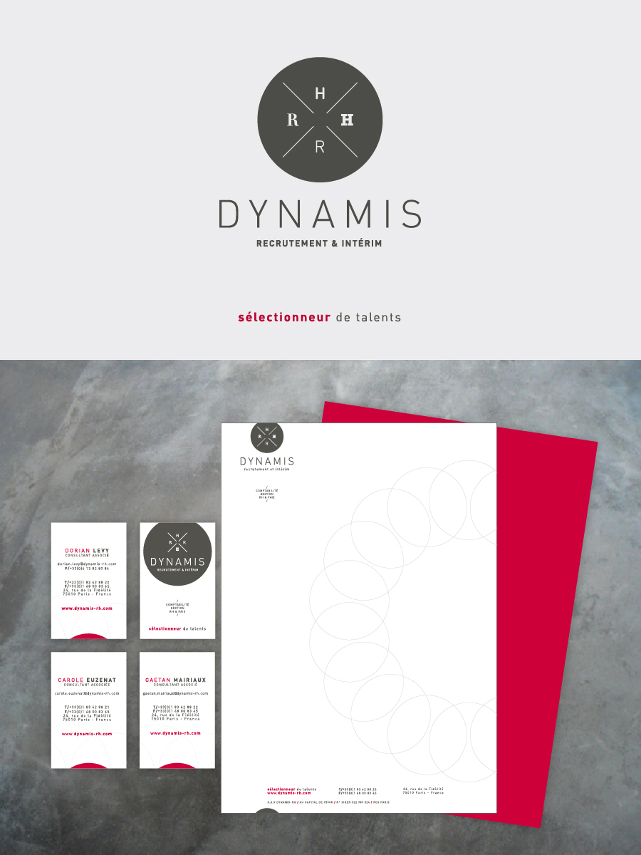 communication visuelle - Dynamis