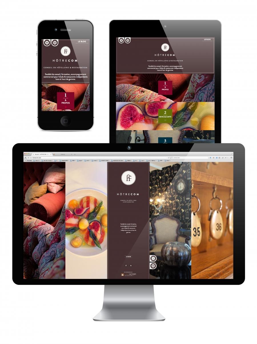 site web responsive design hotrecom