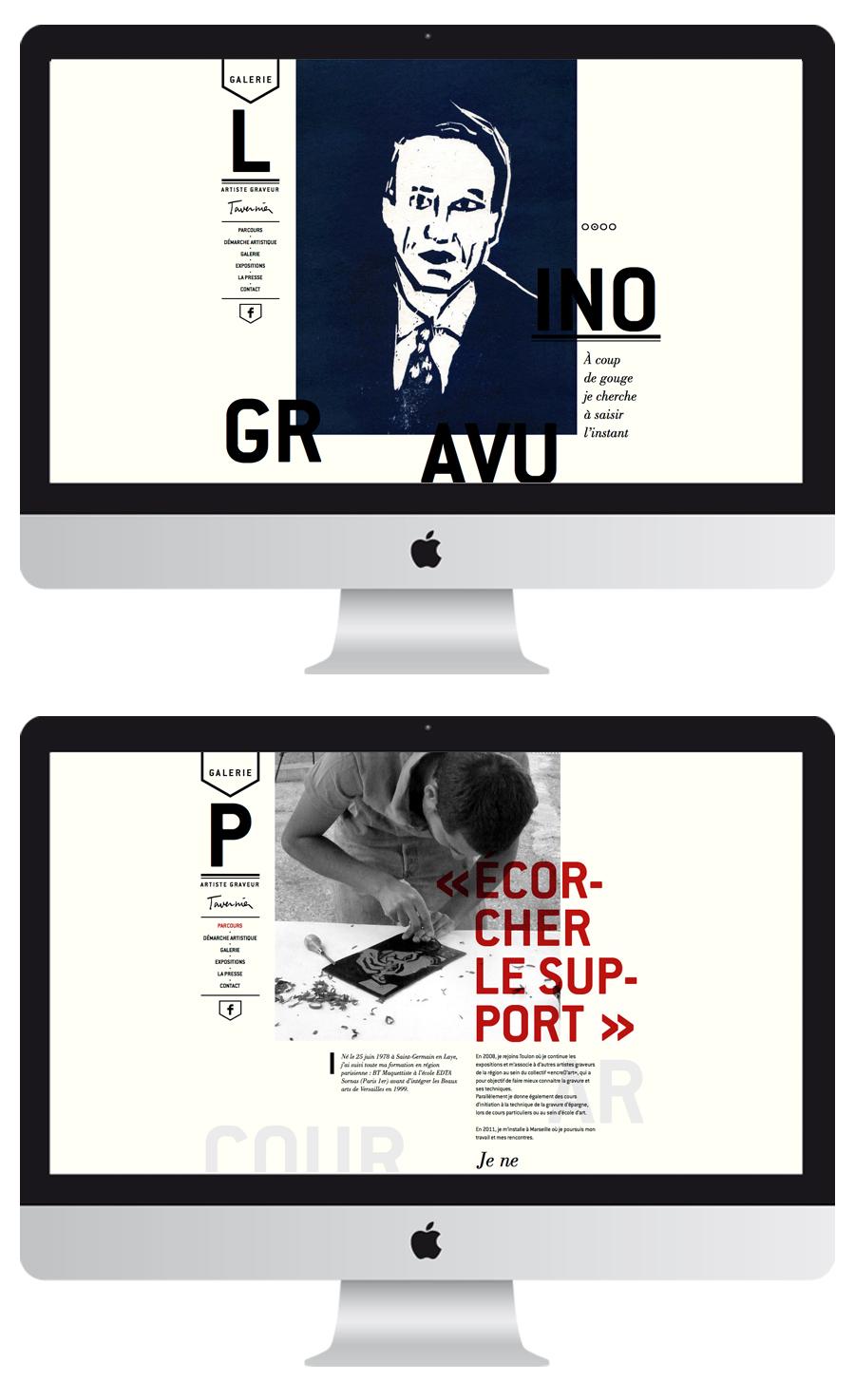 secteur culturel -site web-tavernier