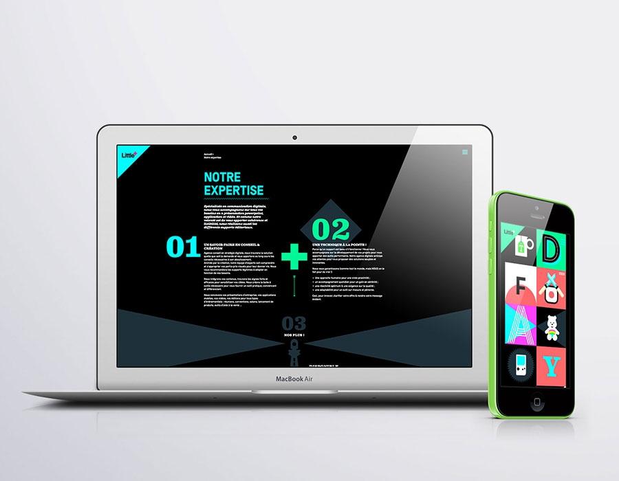 site web littleplus-agence-s