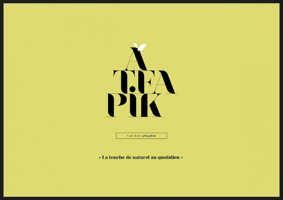 identite visuelle thé ateapik agence-s