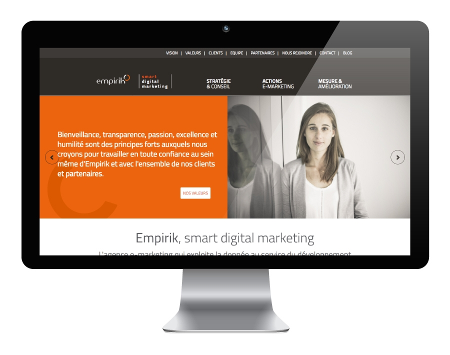 site internet empirik agence-s