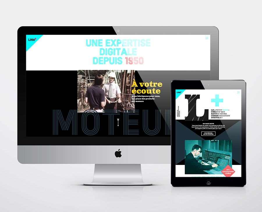 site internet littleplus agence-s