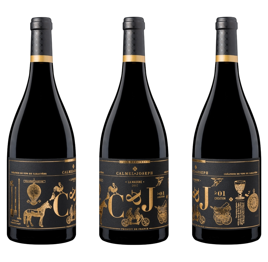 packaging etiquette de vin agence-s