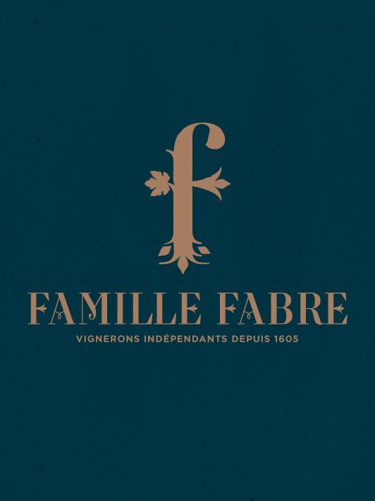 branding vin famille fabre agence S & saguez